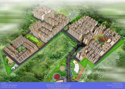 Aprscl – Sadbhavana Township at Pocharam