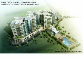 Dhatri Valley View Apartments at Banjara Hills, Hyderabad