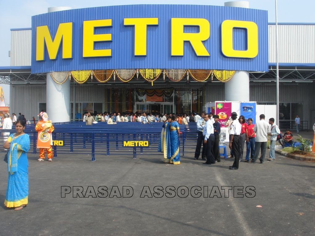 Distribution center for Metro Cash & Carry at Moosapet , Uppal & Kolkata