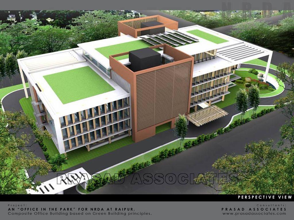 NRDA – Office Complex for Naya Raipur Development Authority at Naya Raipur